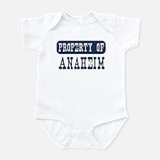 Property of Anaheim Infant Bodysuit
