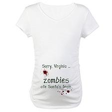 Zombies ate santa's brain Shirt
