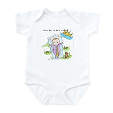 Babies Make the World Go Around Infant Bodysuit -