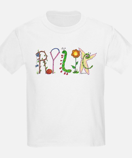 Personalized Name Art T-Shirt Rylie