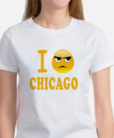 Cool I hate chicago Tee
