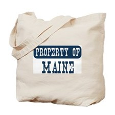 Property of Maine Tote Bag