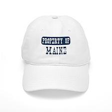 Property of Maine Baseball Cap