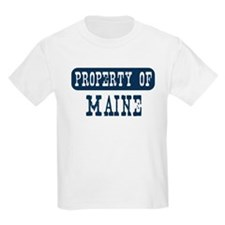 Property of Maine T-Shirt