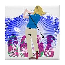 Golf Extras Tile Coaster