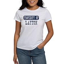 Property of Layton Tee