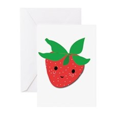 Strawberry Friend Greeting Cards (Pk of 10)
