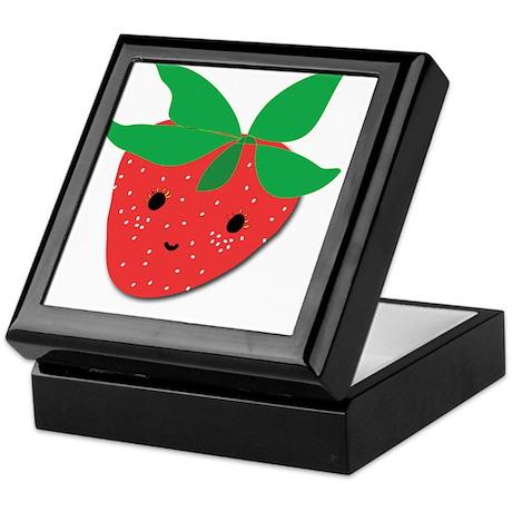 Strawberry Friend Keepsake Box