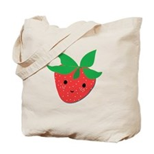 Strawberry Friend Tote Bag