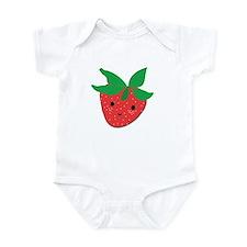 Strawberry Friend Infant Bodysuit