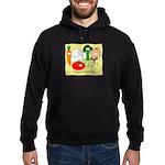Veggie Friendly Hoodie (dark)