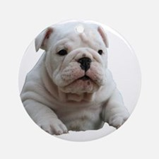 Bulldog 1 Ornament (Round)