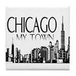 Chicago My Town Tile Coaster
