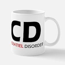 Obsessive Cockatiel Mug