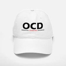 Obsessive Cockatiel Baseball Baseball Cap