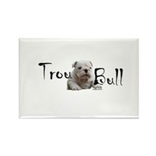 Trou Bull Rectangle Magnet