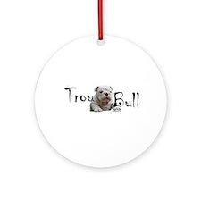 Trou Bull Ornament (Round)