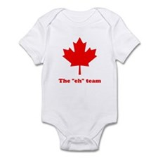 "The ""eh"" Team Infant Bodysuit"