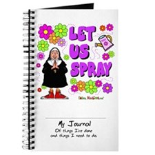 Let Us Spray Journal