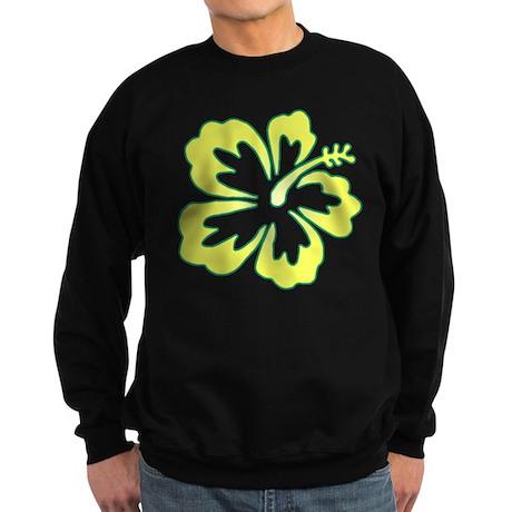 Surf Flowers (Yellow and Gree Sweatshirt (dark)