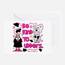 Be Kind to Udders Greeting Card