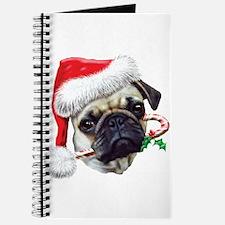 Pug Christmas Journal