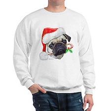 Pug Christmas Sweatshirt