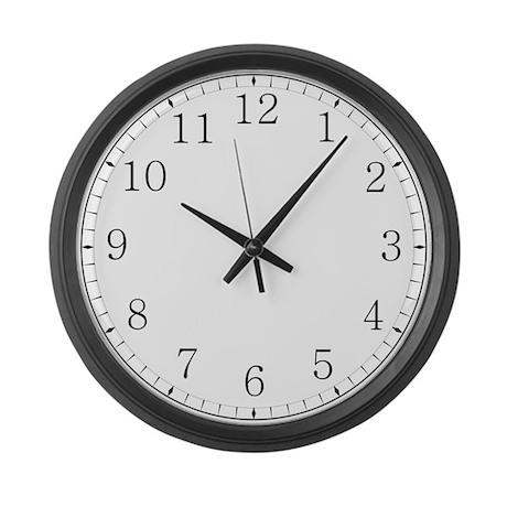 Large Kitchen Wall Clock