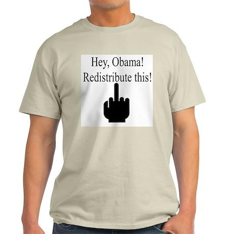 Redistribute this! Light T-Shirt