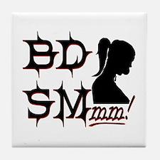 BDSM lovers Tile Coaster