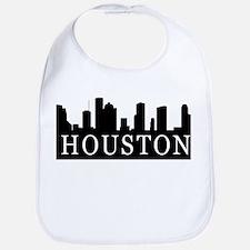 Houston Skyline Bib