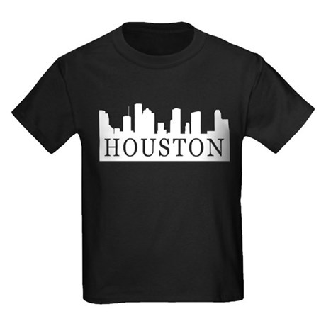 Houston Skyline Kids Dark T-Shirt