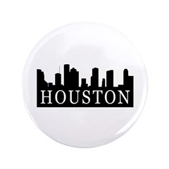 "Houston Skyline 3.5"" Button (100 pack)"