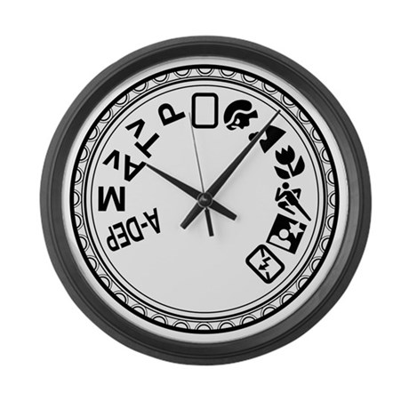 Mode Dial Large Wall Clock