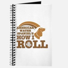 american water spaniel's how I roll Journal