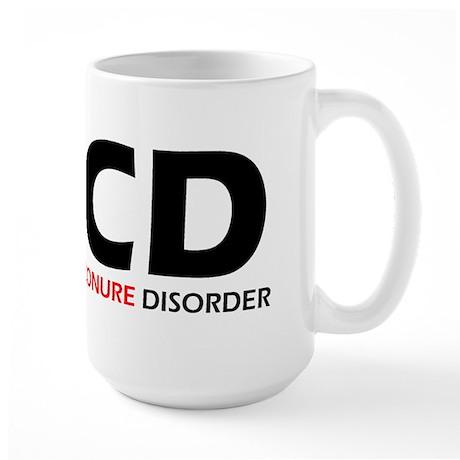 Obsessive Conure Large Mug