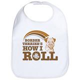 Border terrier Cotton Bibs