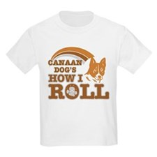 canaan dog's how I roll T-Shirt