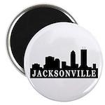 Jacksonville Skyline Magnet