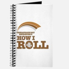 chesapeake bay retriever's how I roll Journal