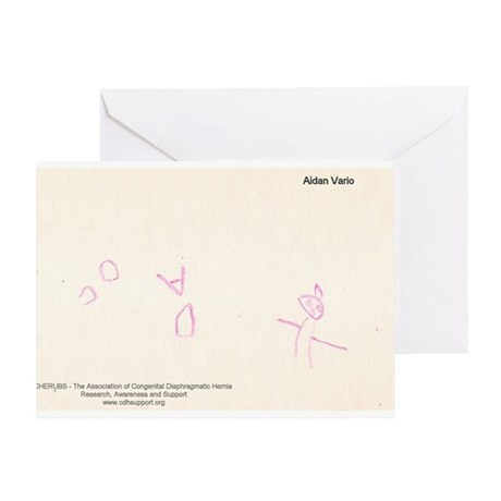 Holiday Artist Aidan Vario Greeting Card