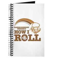 dandie dinmont terrier's how I roll Journal