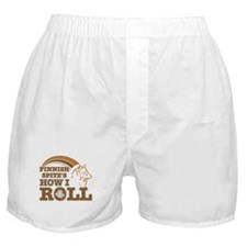 finnish spitz's how I roll Boxer Shorts