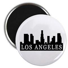 "Los Angeles Skyline 2.25"" Magnet (10 pack)"