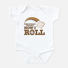 glen of imaal terrier's how I roll Infant Bodysuit