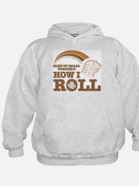 glen of imaal terrier's how I roll Hoodie