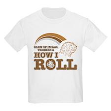 glen of imaal terrier's how I roll T-Shirt