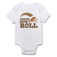 greater swiss mountain dog's how I roll Infant Bod