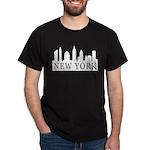 New York Skyline Dark T-Shirt