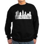 New York Skyline Sweatshirt (dark)